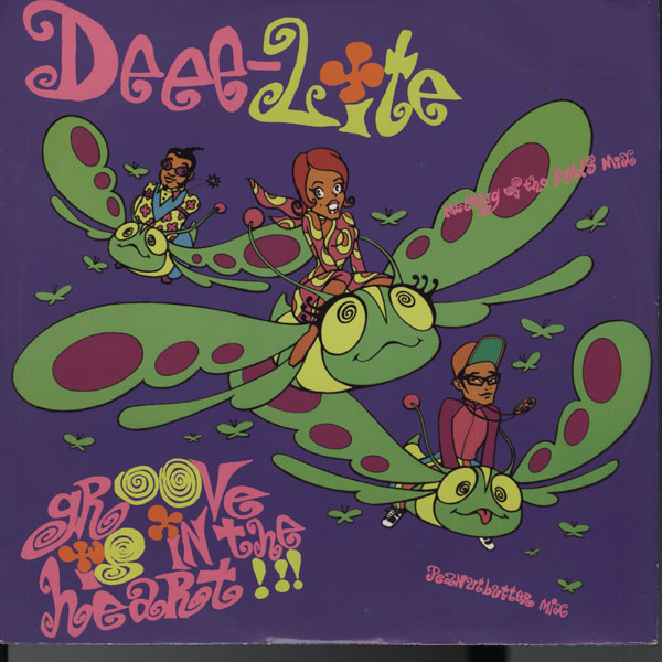 DEEE-LITE / GROOVE IS IN THE HEART:ディー ライト / グルーヴ イズ イン ザ ハート (ELEKTRA US) out of stock records