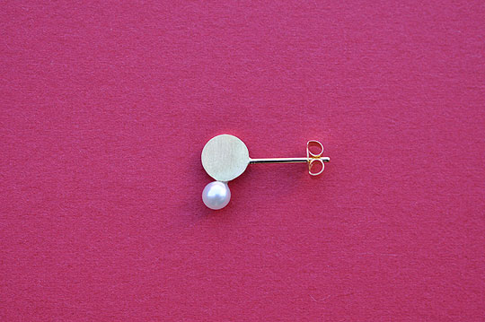 Rhythm Post Earrings (tortue) - SOURCE objects
