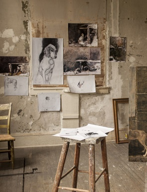 Andrew Wyeth Studio | The Artists & The Workspace