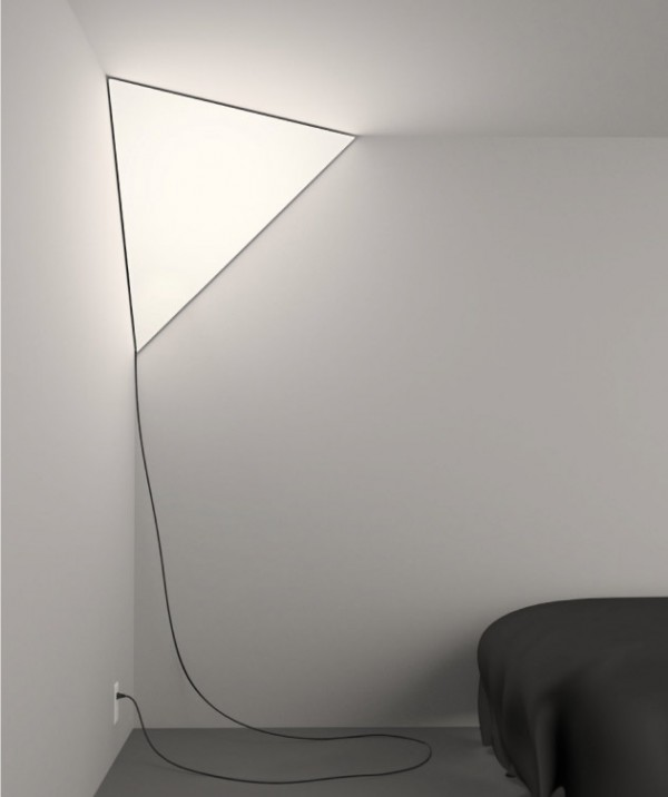 Corner Light Softly Illuminates Little-Used Interior Spaces | Designs & Ideas on Dornob