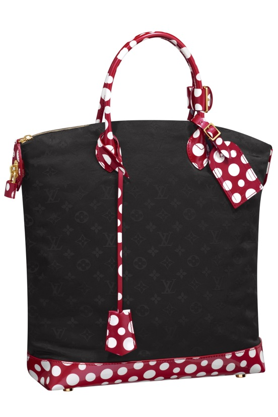 Yayoi-Kusama-Louis-Vuitton-Lockit-MM-Monogram-Nylon-Dots-Infinity-red.jpg (552×828)