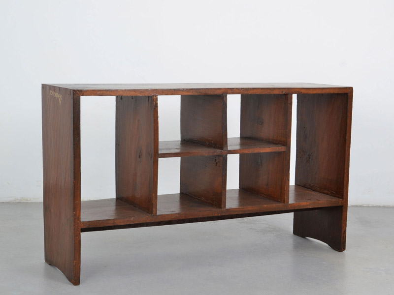 Double-sided file rack, 1957-58 | Pierre Jeanneret | Galerie Patrick Seguin | 20th Century Furniture & Architecture