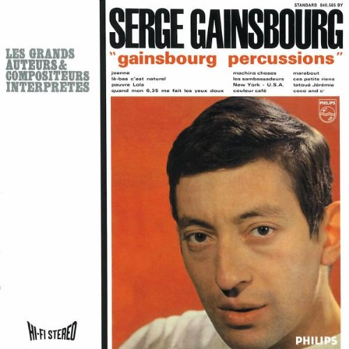 Amazon.co.jp: Gainsbourg Percussions: Serge Gainsbourg: 音楽