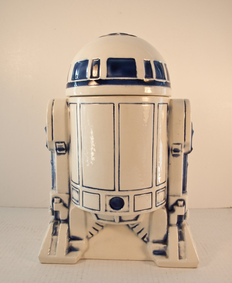 Vintage Star Wars R2D2 Cookie Jar / 1977 by BunnyRabbitVintage