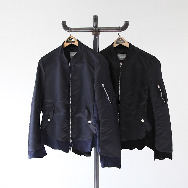TAKAHIROMIYASHITA The SoloIst. Retro Flight Jacket s.0552 - Silver and Gold Online Store