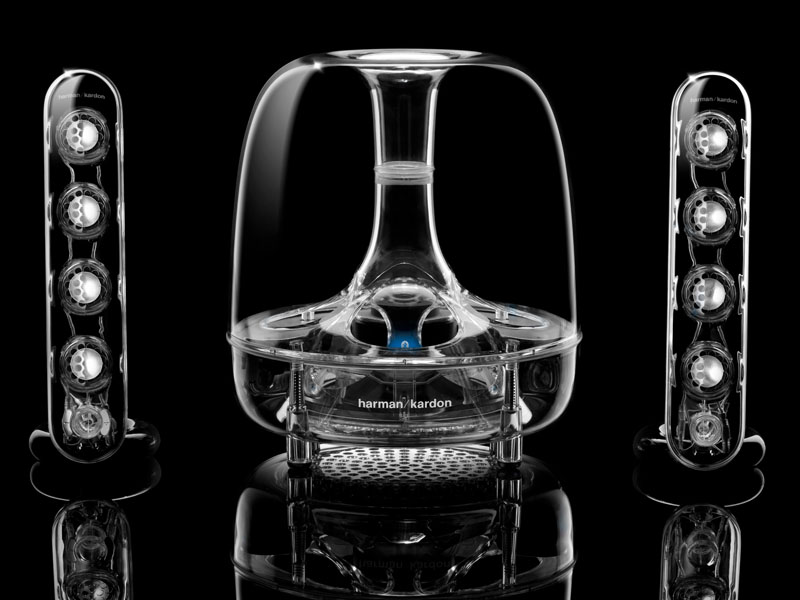 [拡大画像]ハーマン、harman/kardonのBluetooth対応「SOUNDSTICKS」 -AV Watch