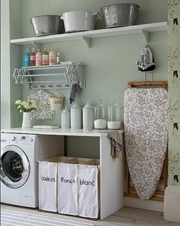 Not So Shabby: Loving these Laundry Rooms..