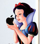 Snow White Apple iPad2 Sticker - Fabfive ファブファイブ