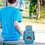 Lunch Bot : Robot lunch box made from colourful tin.