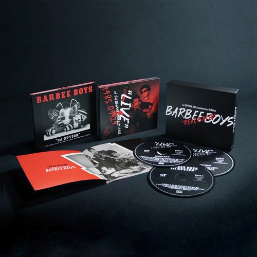 Amazon.co.jp: バービーボーイズ : REAL BAND -1st OPTION 30th Anniversary Edition-(完全生産限定盤) - 音楽