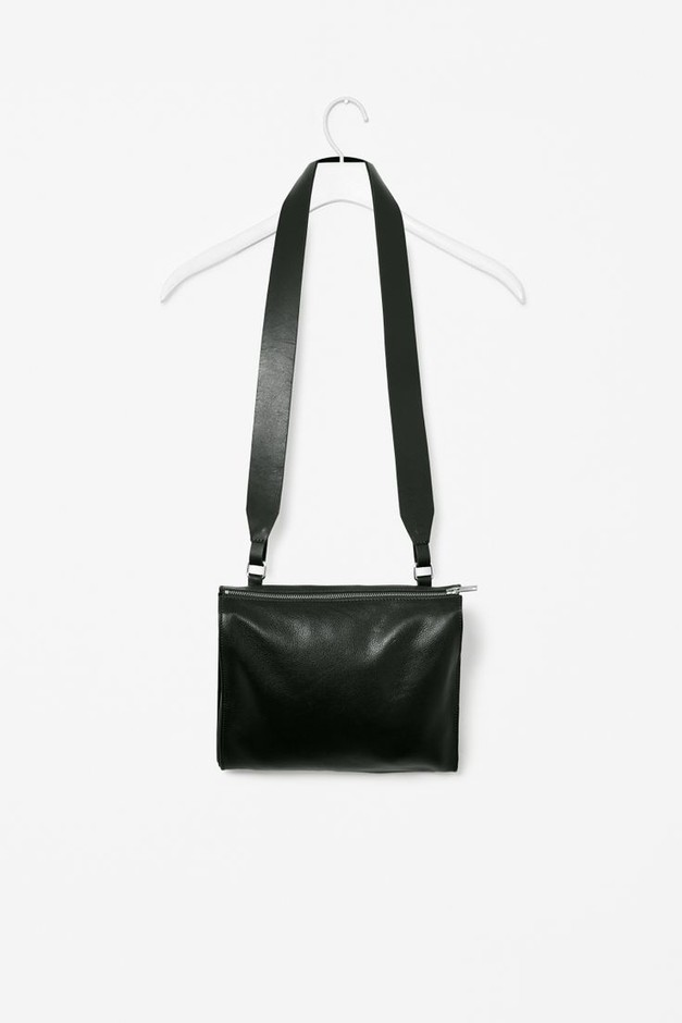 Wide strap leather bag | Style | Pinterest