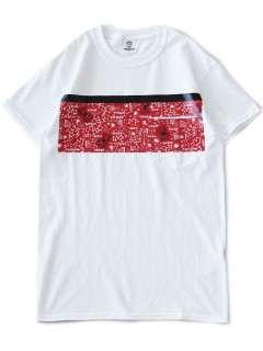 Rubber Pocket Tee (red)
