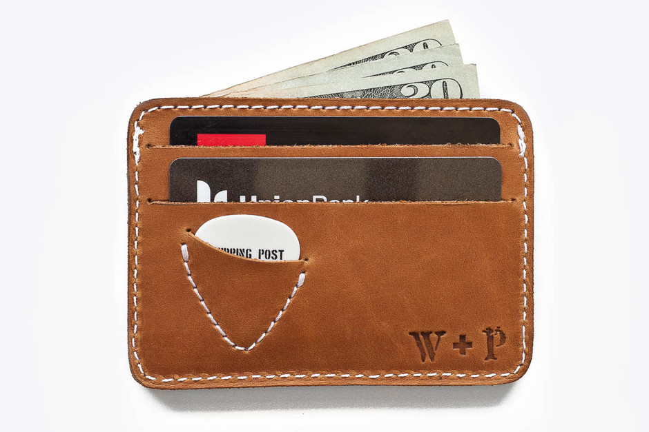 Mojave Leather Picker's Wallet - Whipping Post