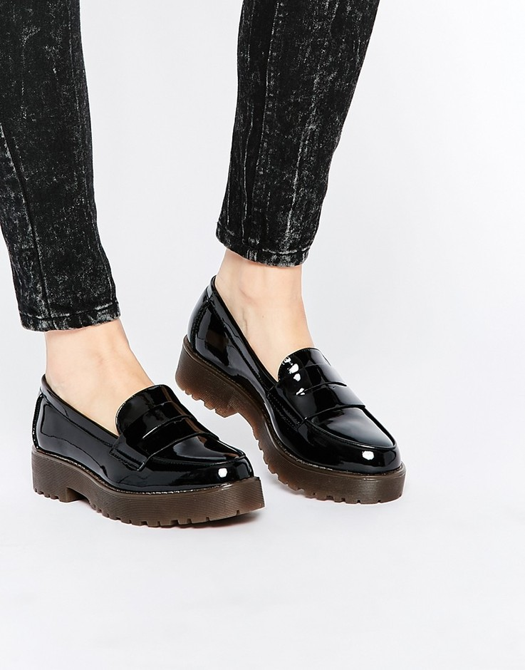 New Look | New Look Chunky Sole Loafer Shoe at ASOS