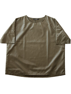 LOVE online store WOMEN   P.A.M. Tent Woven Tee (army)