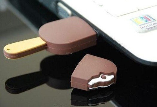September prize: The chocolate ice cream bar USB drive « Ice Cream Journal