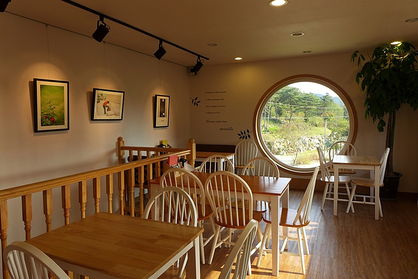 vintage rolleiflex houses dreamy camera cafe in south korean countryside