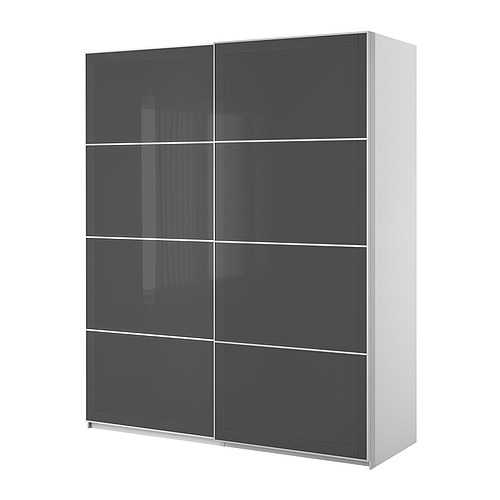 ikea pax kleiderschrank mit schiebet ren ikea. Black Bedroom Furniture Sets. Home Design Ideas