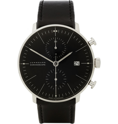 Max Bill by Junghans Stainless Steel Automatic Chronograph Watch | MR PORTER