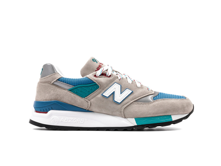 NEW BALANCE M998CSB DISTINCT USA - GREY / RED / BLUE – PACKER SHOES