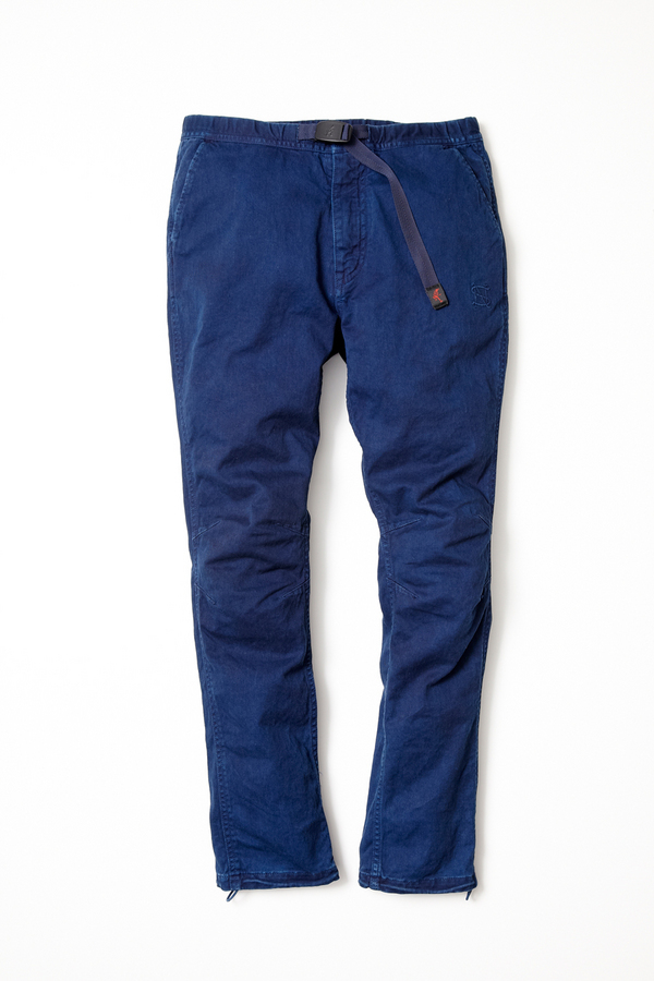 SOPHNET. × nonnativeCLIMBER EASY PANTS - C/P TWILL STRETCHby GRAMICCI OVERDYED with RYUKYU INDIGO | vendor