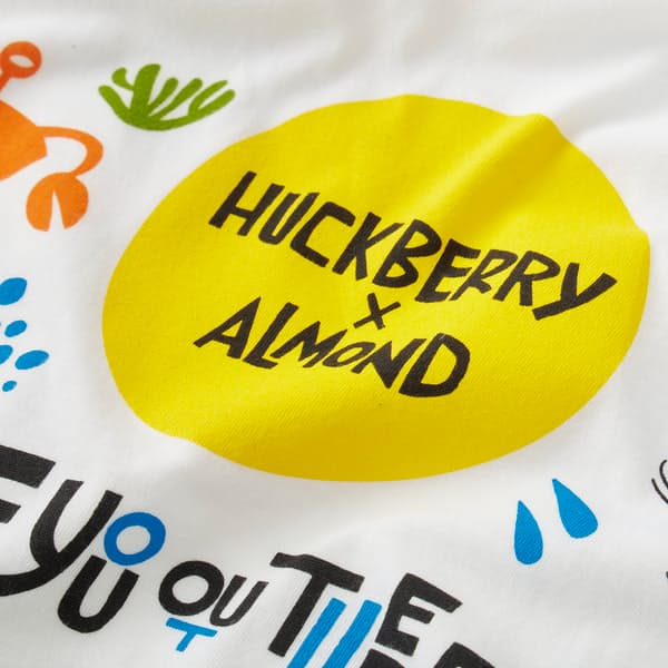 Almond Surfboards Yusuke Hanai x Almond Custom Tee | Huckberry