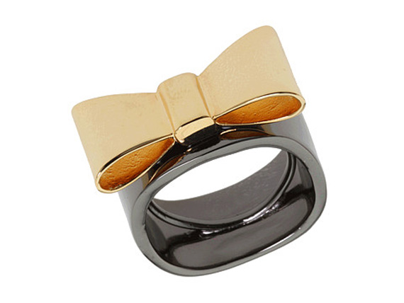 Marc by Marc Jacobs Bow Ring | Slice of Style
