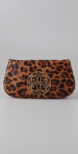 Tory Burch Ainsley Logo Clutch