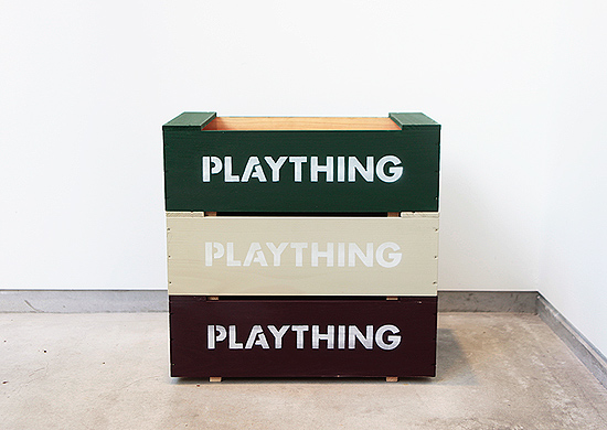 Landscape Products / Stacking Toy Box - Cazahana WebStore  カザハナ ウエブストア
