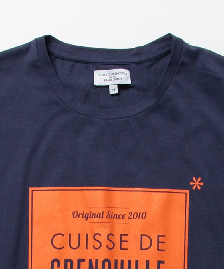 BEAMS LIGHTS(ビームス ライツ)CUISSE DE GRENOUILLE×BEAMS LIGHTS / 40th別注 フラッグプリントTシャツ(Tシャツ・カットソー Tシャツ)通販|BEAMS