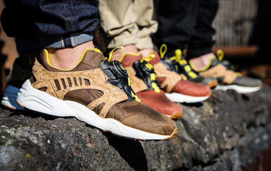 """round about: Puma Disc Blaze """"Leather Cage Crafted Pack"""""""