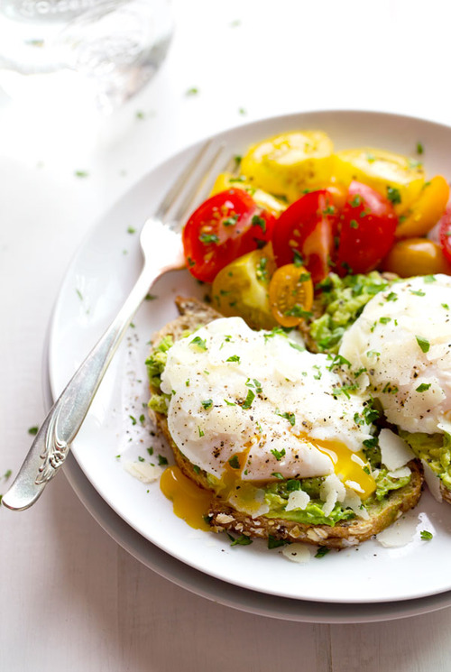 Toast with Poached Egg and Avocado | Sumally (サマリー)