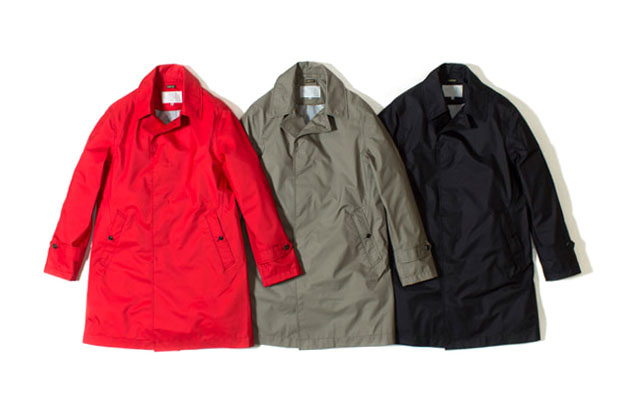 nanamica x The North Face 2012 GORE-TEX Soutien Collar Coat Collection | Hypebeast