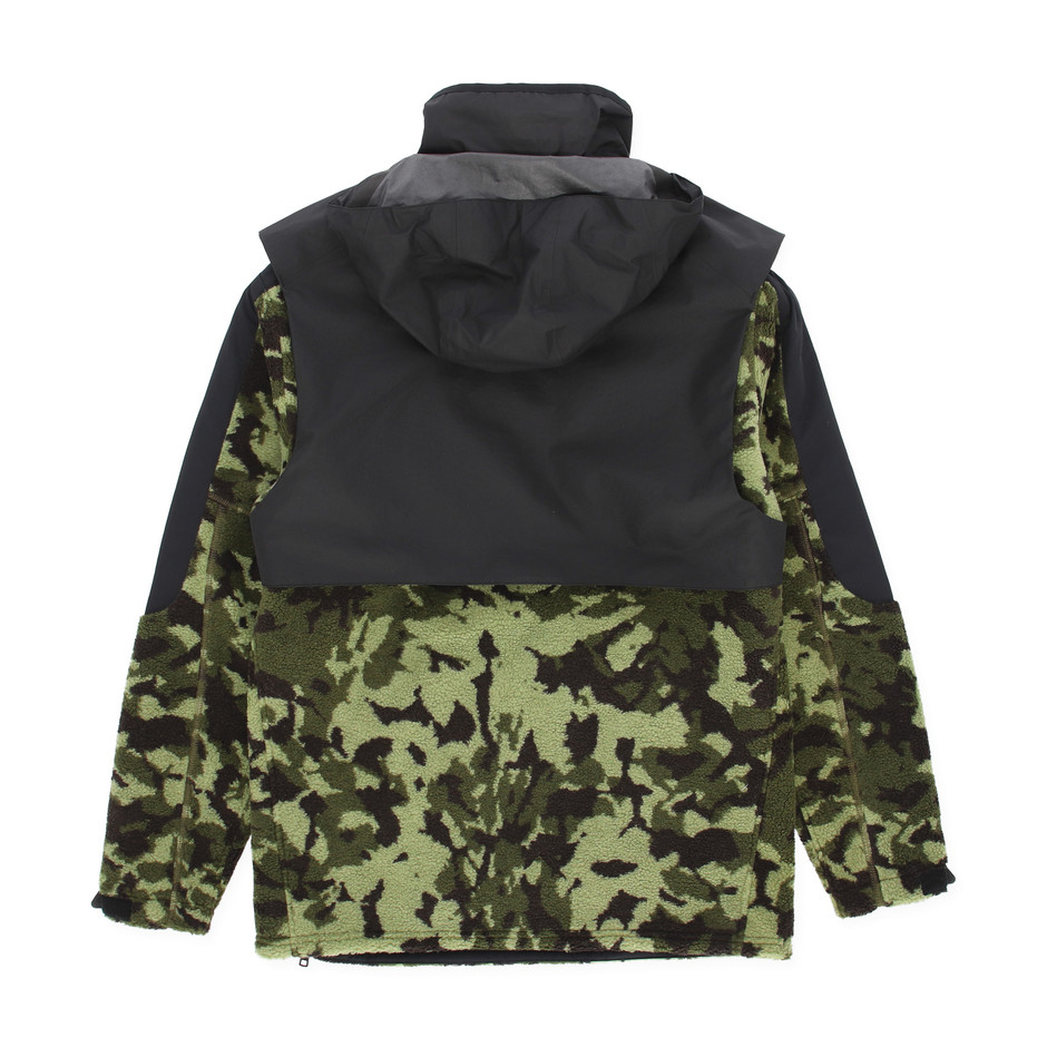 NikeLab x MMW Hooded Fleece Parka Jacket - Slam Jam Socialism