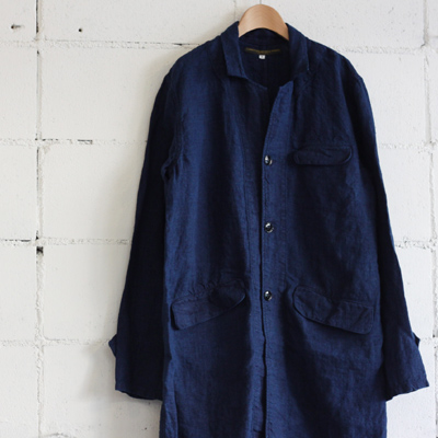 GARMENT REPRODUCTION OF WORKERS ENGINEER COATcol:INDIGO - nisica LOLO maomade evameva EEL mizuiro-indなどcotyle-コチレ-の通販サイト