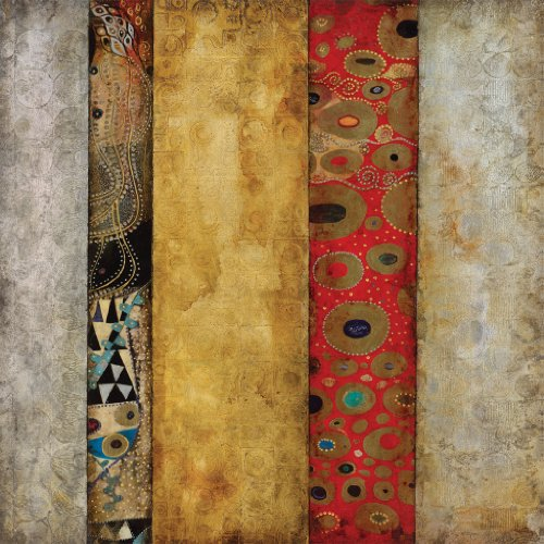 Amazon.com: Subtle Mucic II by Douglas Fine Art Canvas 30 x 30 in Gallery Wrap Wall Decor: Home & Kitchen