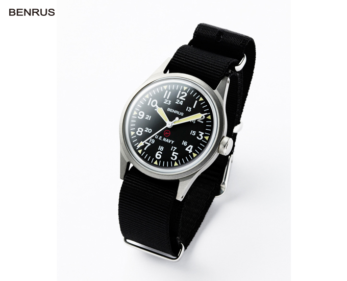 uniform experiment   PRODUCT   BENRUS MILITARY WATCH