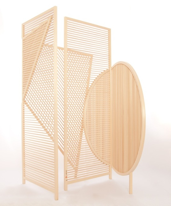 Join: wooden screens by BCXSY