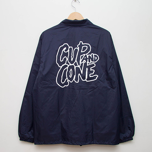 Coaches Jacket - Navy - cup and cone WEB STORE