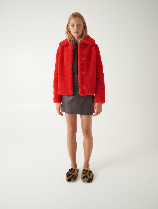 Gilbertine Jacket Red | STAND Official