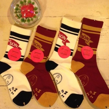 [MY LOADS ARE LIGHT] ×[Aquvii] 別注 BAD SON SOCKS | garden730