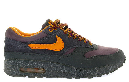 Air Max 1 Storm - Dark Charcoal/Tennessee Orange/Abyss