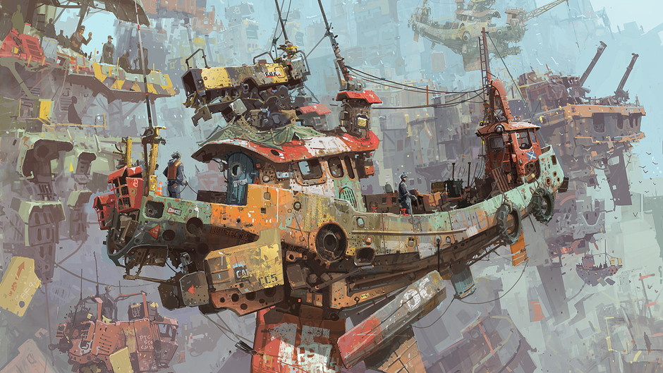 IAN MCQUE | CONCEPT ART: September 2011