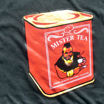 Little Soze Products / Mr Tea / Mr T from the A team Funny t-Shirt