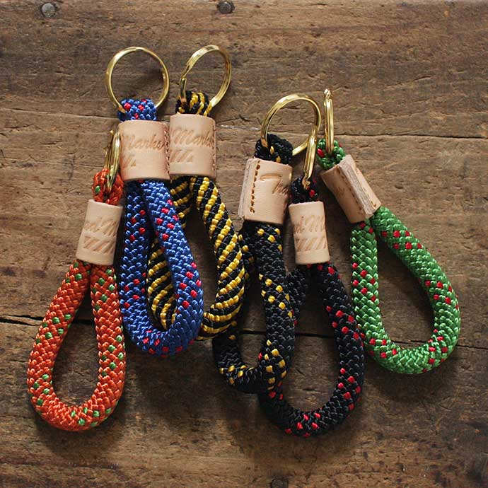 Trad Marks / Rappelling Rope Key Fob(ラペリングキーホルダー) - Eight Hundred Ships & Co.
