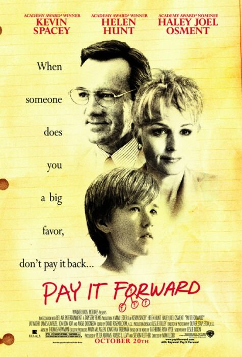 Pay It Forward (2000) - Pictures, Photos & Images - IMDb