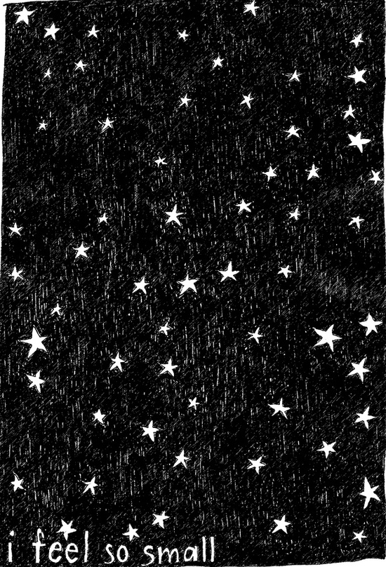 Stars / ~So you are~ black and white
