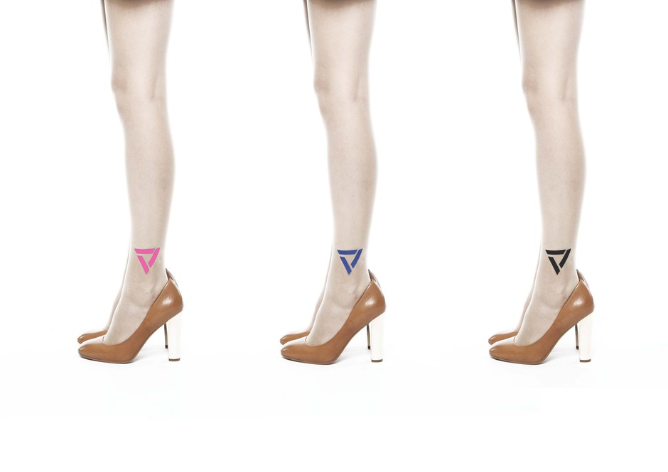 Stockings - Triangle point -