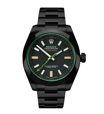 Project X Designs - DLC Black Rolex Milgauss