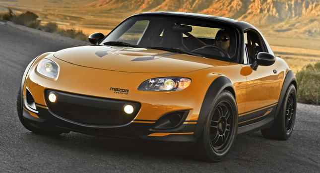 Sweet: Supercharged Mazda MX-5 Super20 gets a New 'Do for 2011 SEMA - Carscoop
